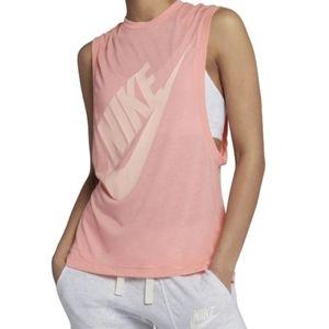Nike vintage style pink tank size medium